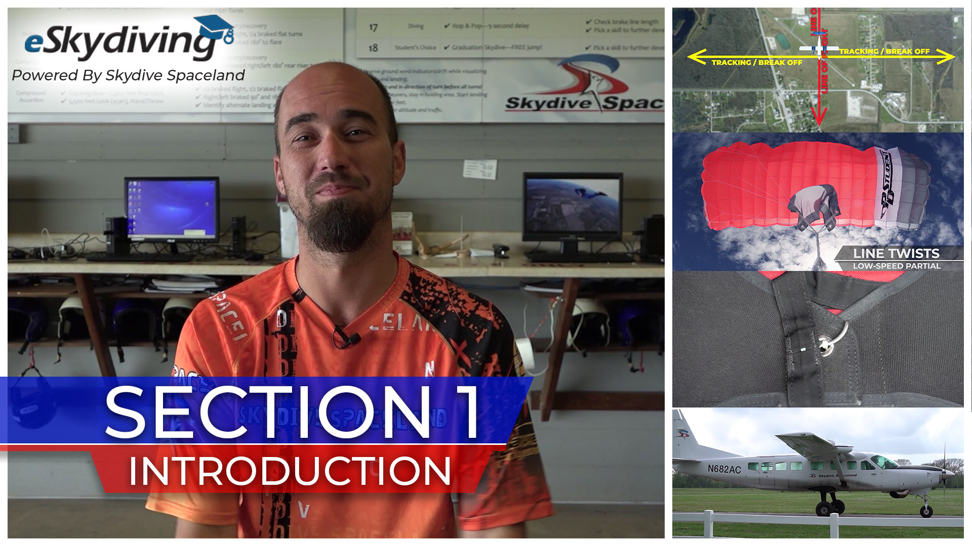 Skydiver Refresher Section 1: Introduction